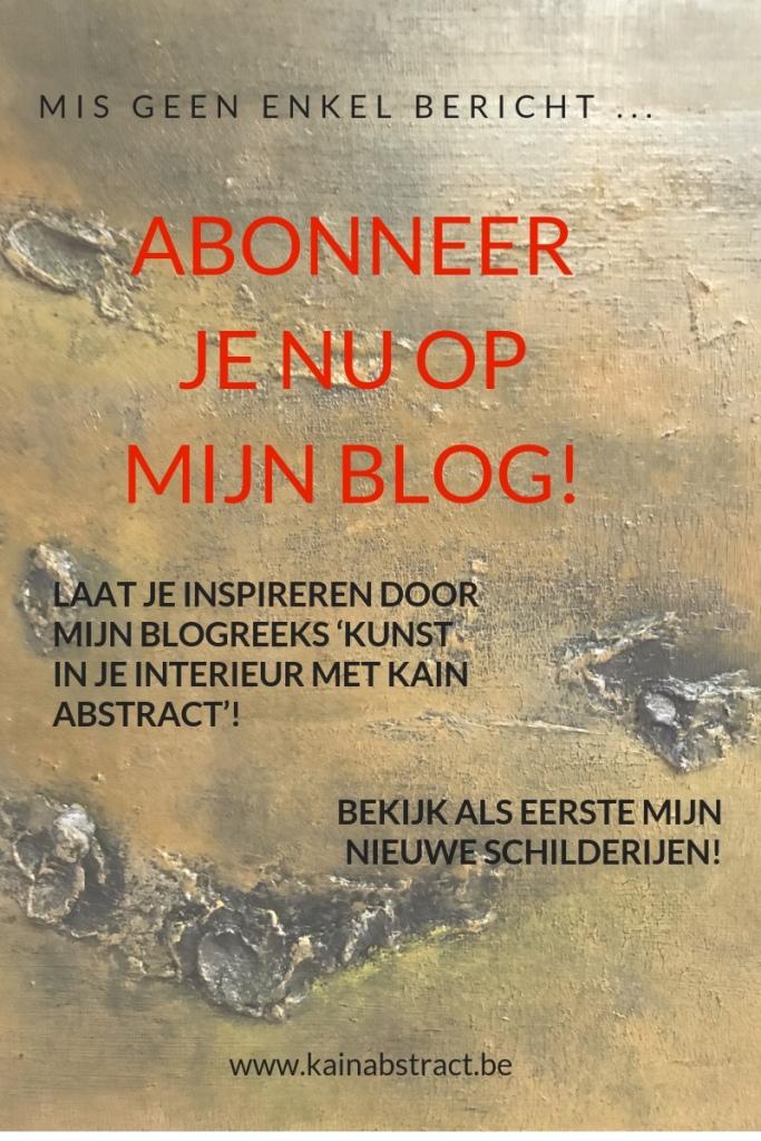 Abonneer je nu op mijn blog!